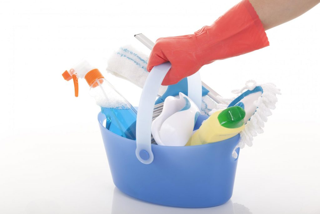 cleaning materials for cleaning